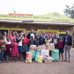Visit to Watu wa Maana Childrens Home