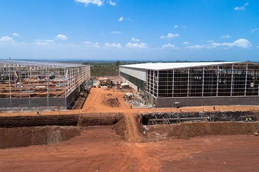 On-going works at Africa Logistics Properties