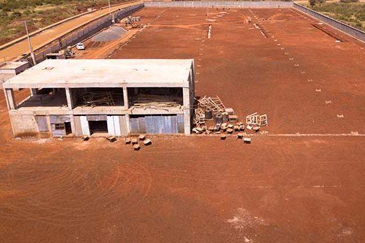 Constrution Progress at Tianlong Cylinder