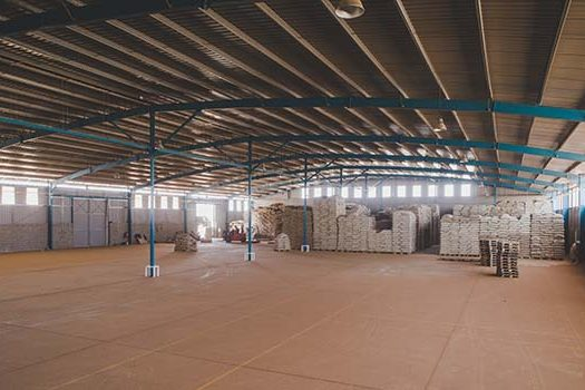 Inside one of Dormans Coffee Group warehouses at Tatu Industrial Park.