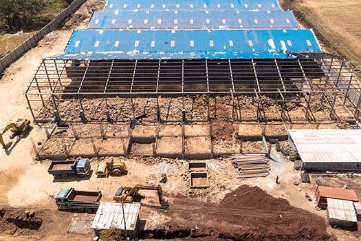 Construction progress at Friendship Group at At Tatu Industrial Park