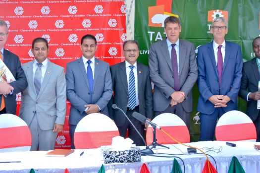 Chandaria Industries joins Tatu Industrial Park